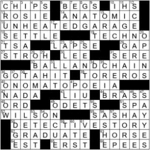 LA Times Crossword Answers Thursday July 16th 2020