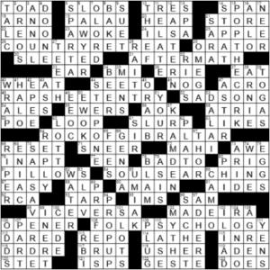 LA Times Crossword Answers Sunday February 28th 2021