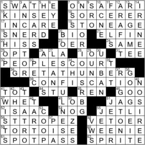 LA Times Crossword Answers Saturday March 13th 2021