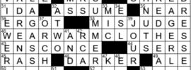 LA Times Crossword Answers Thursday April 22nd 2021