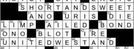 LA Times Crossword Answers Thursday April 29th 2021