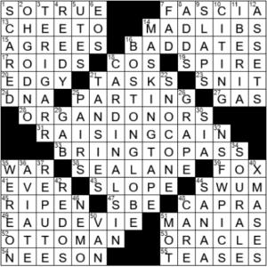 LA Times Crossword Answers Saturday June 5th 2021