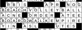 LA Times Crossword Answers Monday July 19th 2021