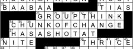 LA Times Crossword Answers Saturday July 3rd 2021